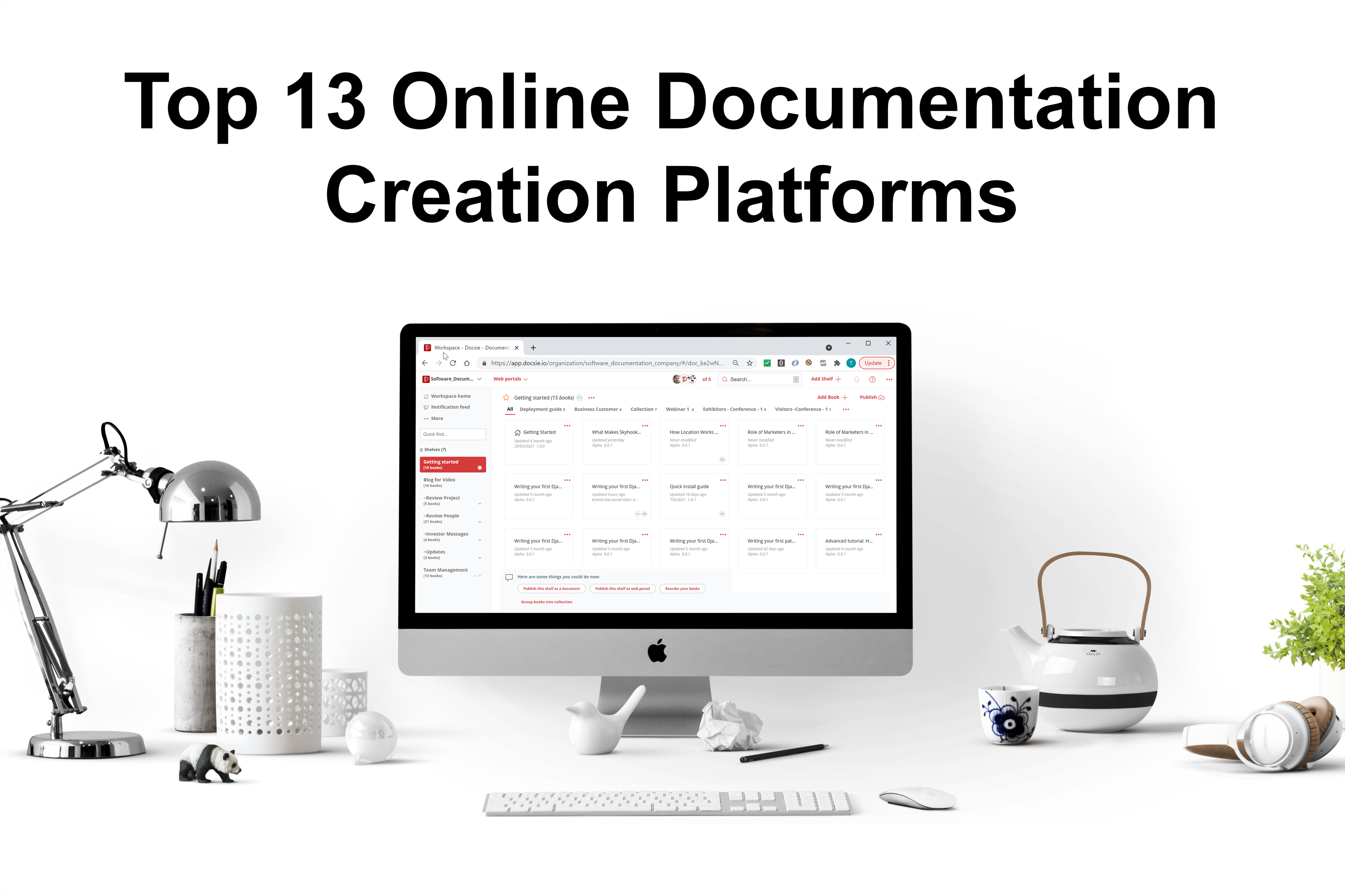 We have explored the greatest features, price plans, and support policies for 13 of the top documentation creation platforms.